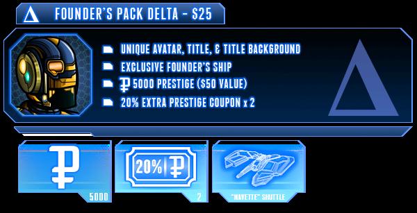 Delta Founder Pack
